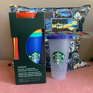 🌈Starbucks colour changing cups